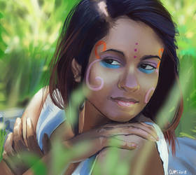 Summer Light by Clapiart