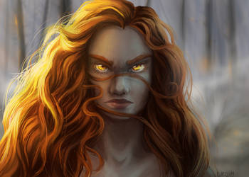 [Golden Eyes] Sunny Eyes by Clapiart