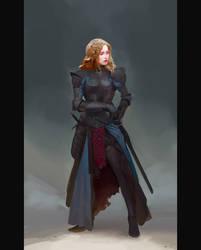 Patricia, the wandering swordsman by MihailSadikov