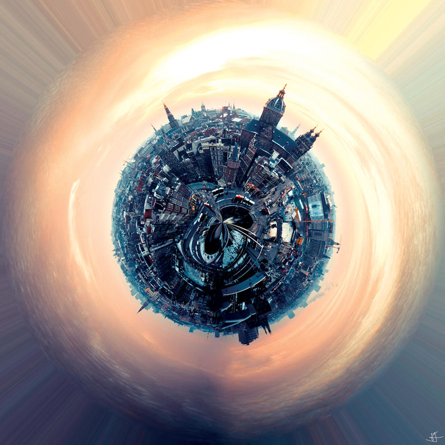 Planet Amsterdam by seventh