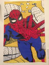 Comic Book Spider Man by brilande19