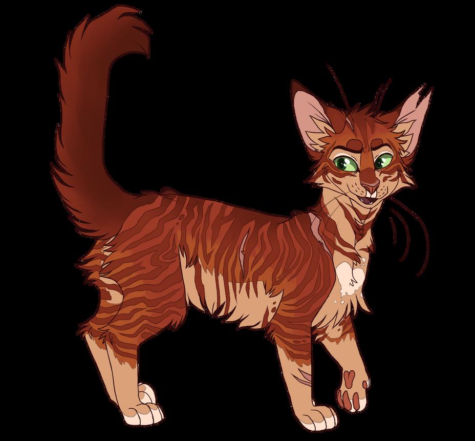 Firestar by sorrelpaaws on DeviantArt Warrior Cat Drawings Firestar