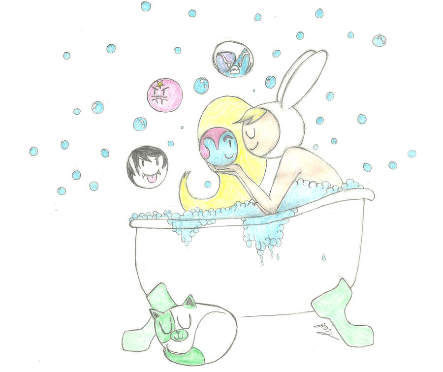 Bath Time by Only1TrueJony
