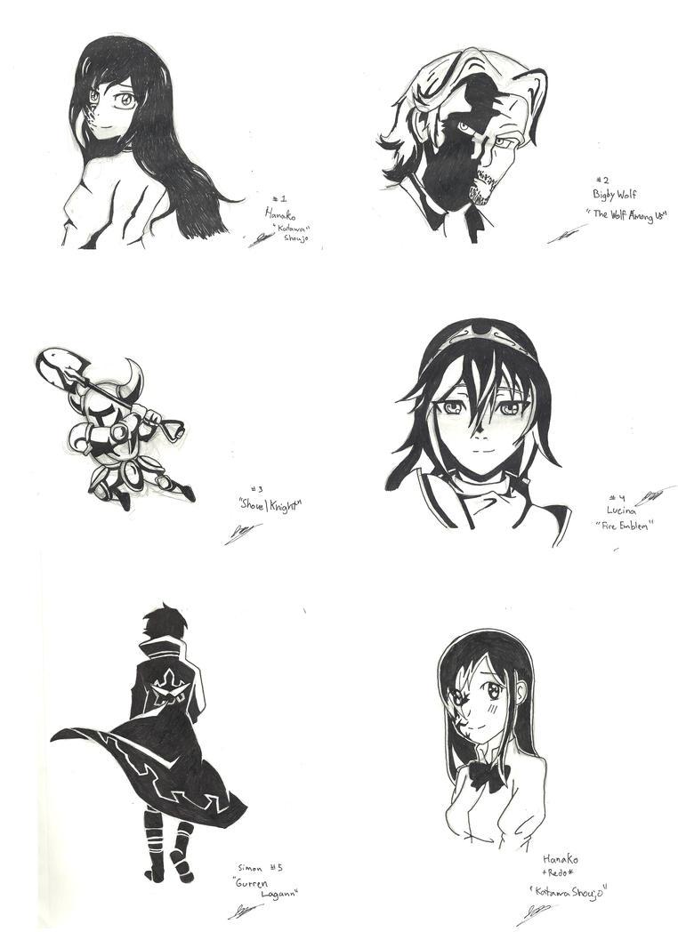 Sketchdump by Only1TrueJony