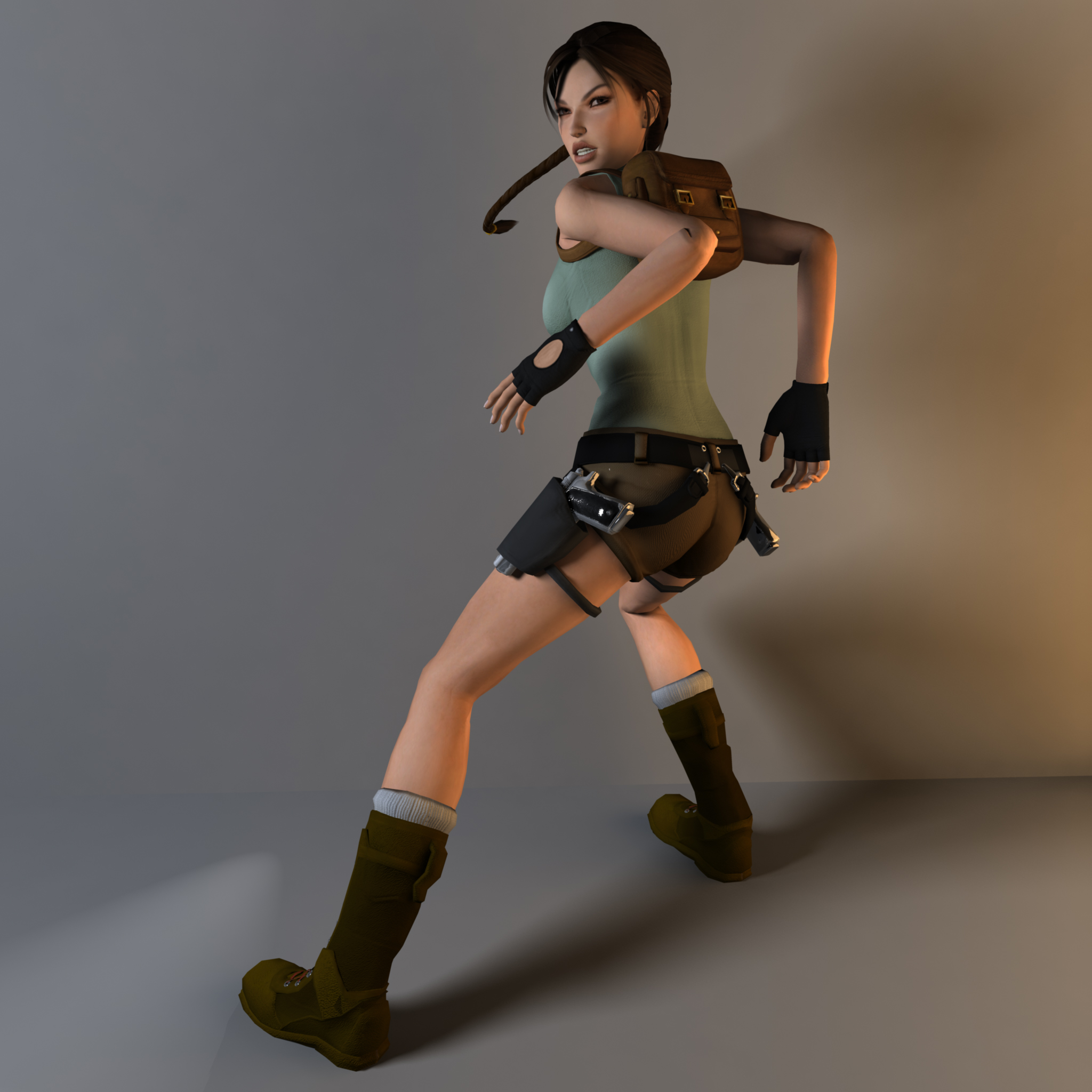 Tomb Rider Wallpaper: Tomb Raider 1 Render Remake By Silviu4mc On DeviantArt