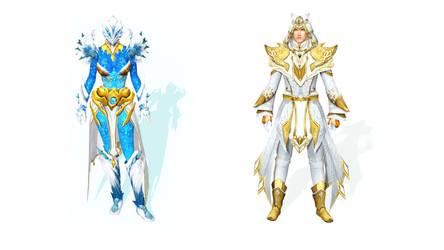Guild Wars 2 - Guardian + Elementalist