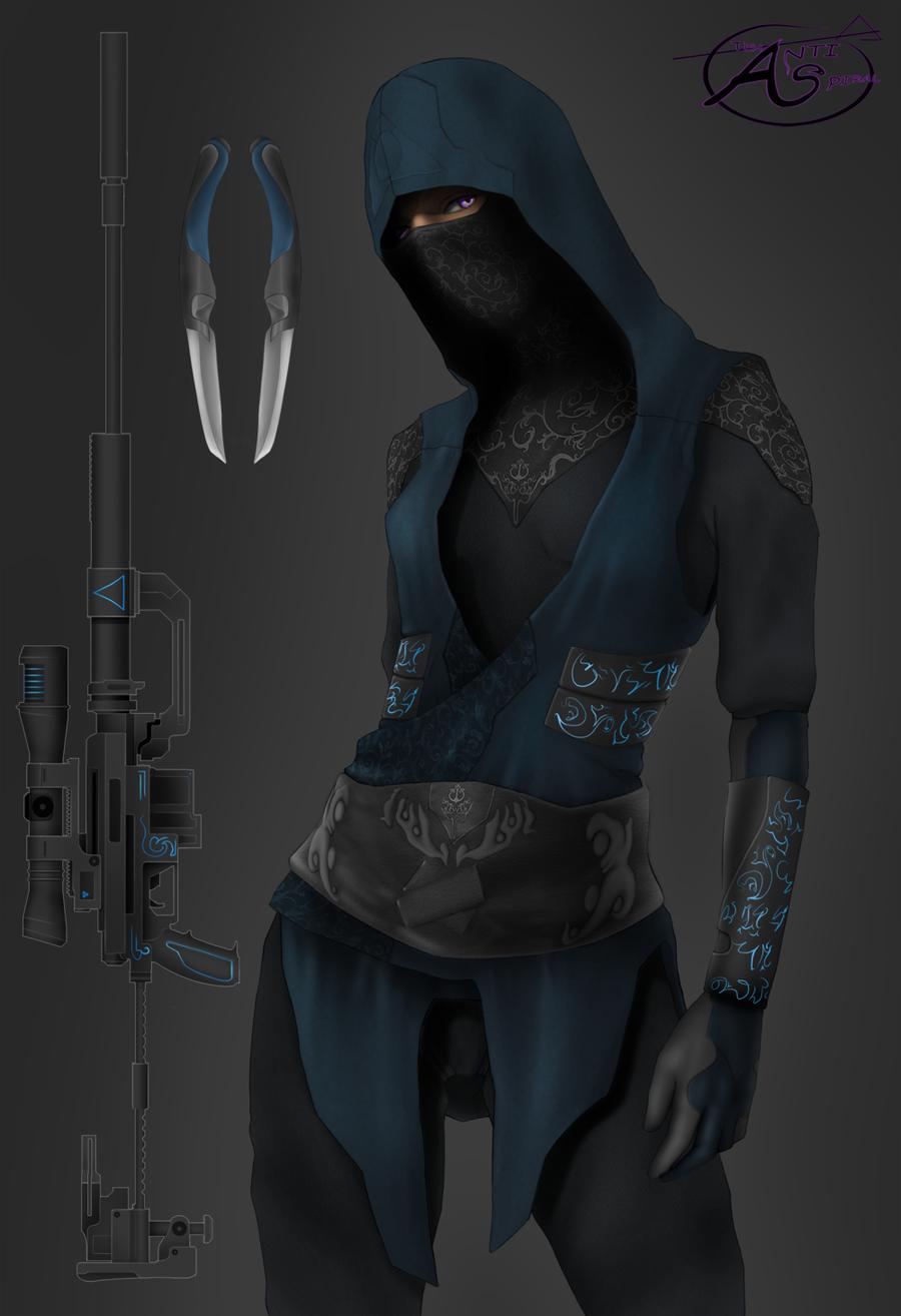 Ninja 02 by AntiSpiral99