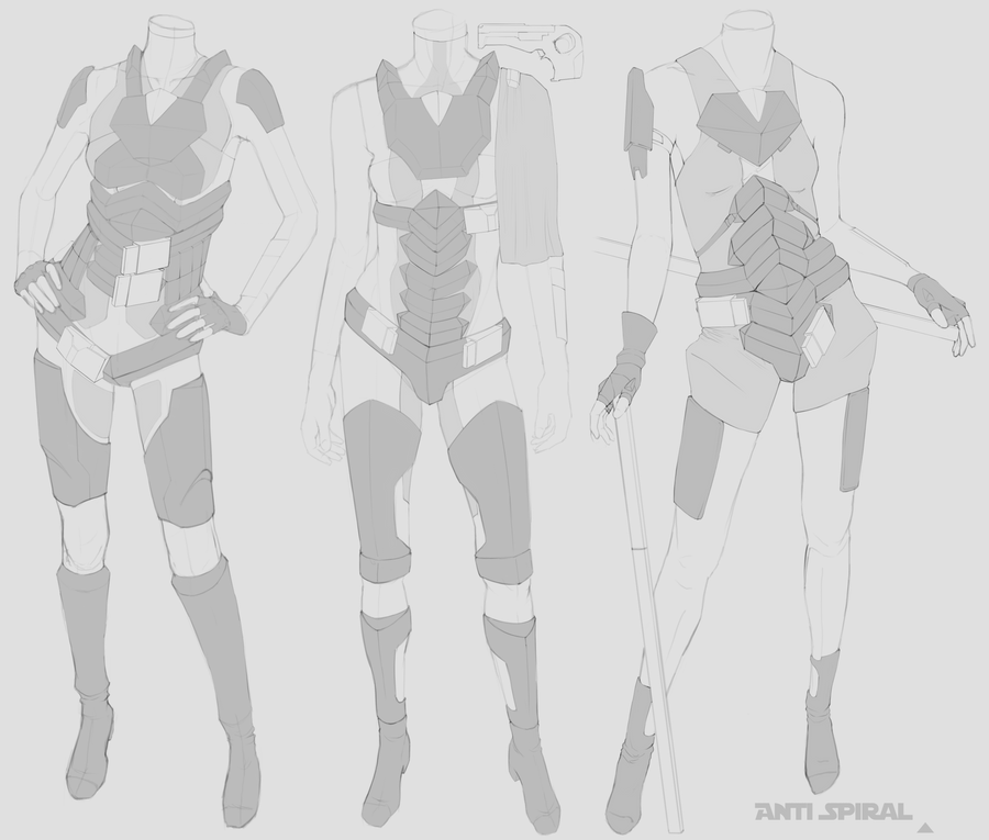 how to draw armor anime