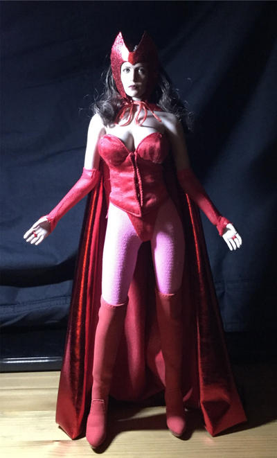 Scarlet Witch WIP by somersetholmes