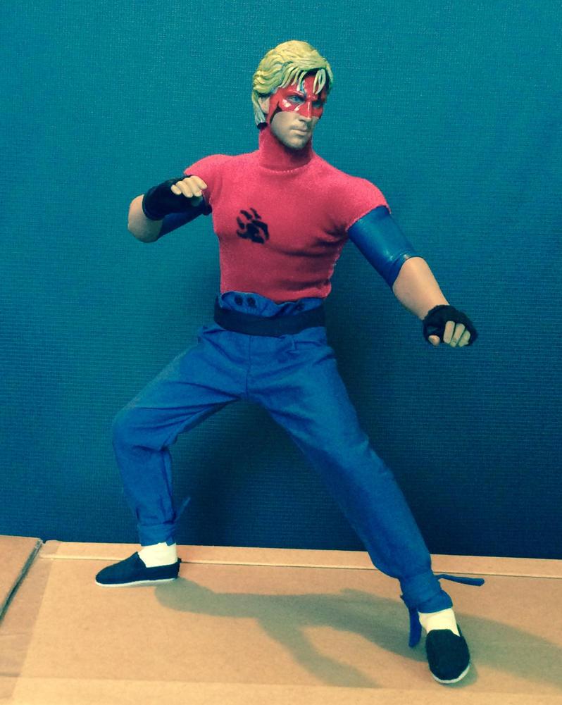 BADGER: 1/6 scale customised figure 2 by somersetholmes