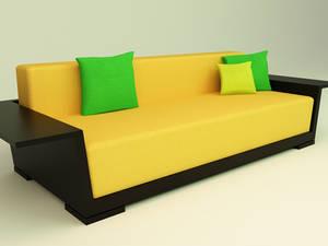 3D Otto sofa