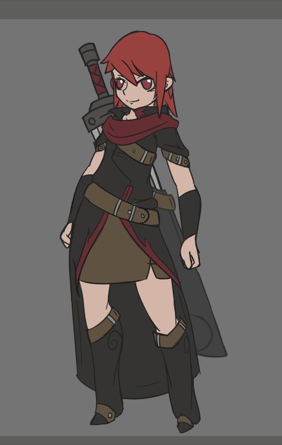Flare [Swordmistress] by BlazingCobalt
