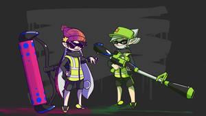 Splatoon [Inkling Agents]