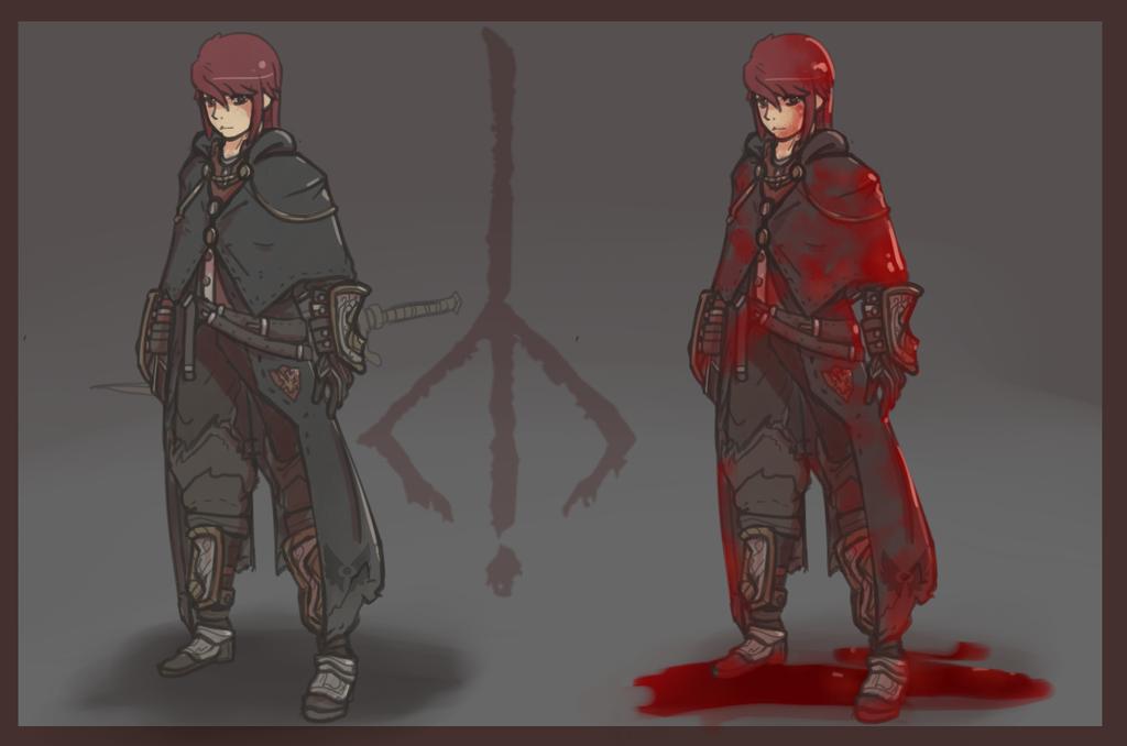 Bloodborne Bloodtinge Hunter By BlazingCobalt On DeviantArt