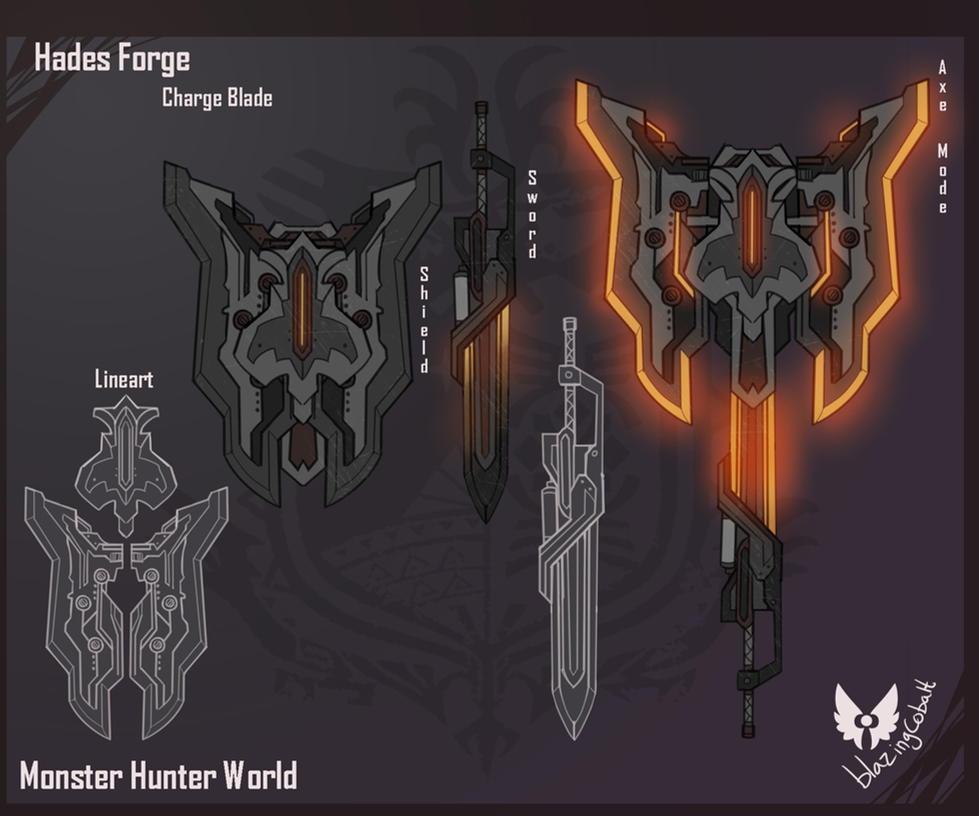Un pequeño premio... [Lotería de navidad] _monster_hunter__hades_forge_3_0_entry_by_blazingcobalt-dblxyga