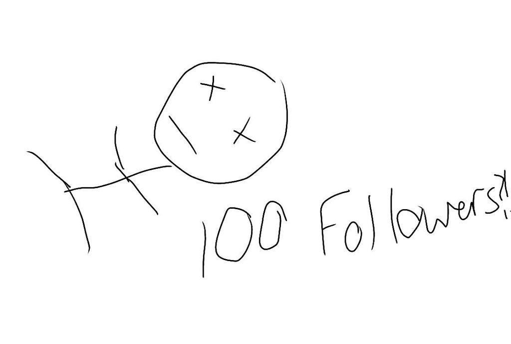 OMG 100 FOLLOWERS?! by shimmerandsparkle