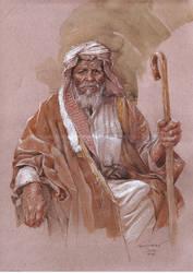 The Old Sheik by SinkoSiete