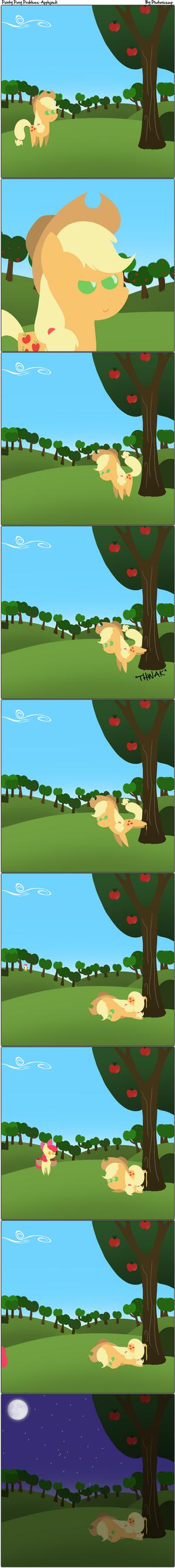 Pointy Pony Problems: Applejack by Photonicsoup