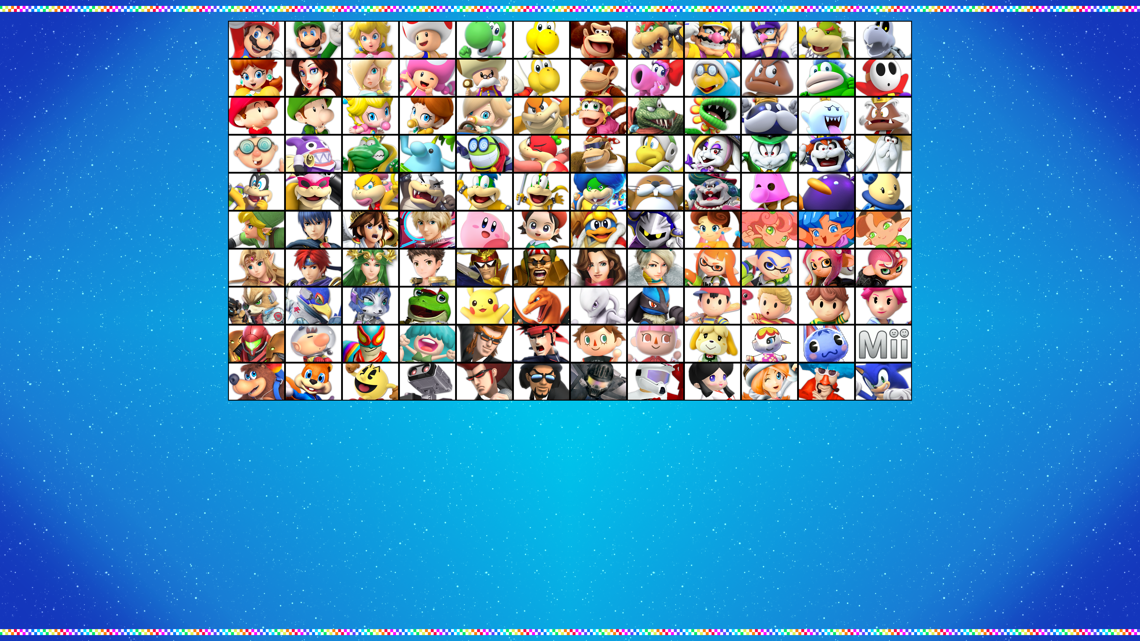 Super Mario Kart Ultimate The Character Roster By Wilsonasmara On