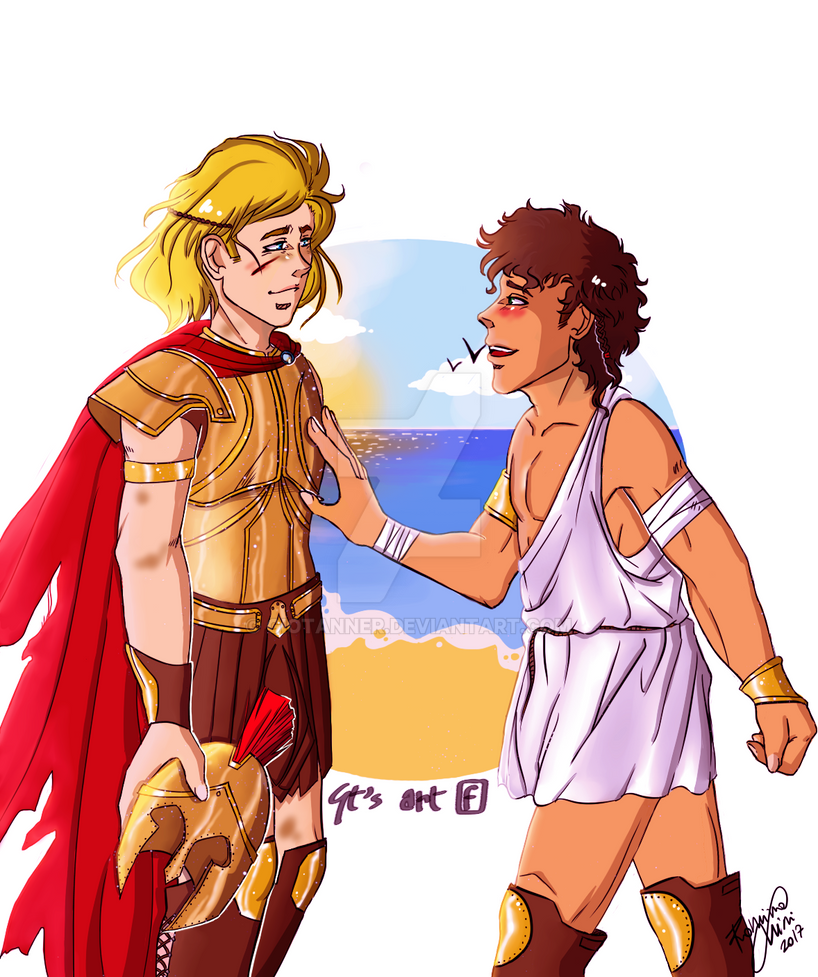 You are home - Achilles and Patroclus by GioTanner on ...