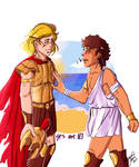 You are home - Achilles and Patroclus