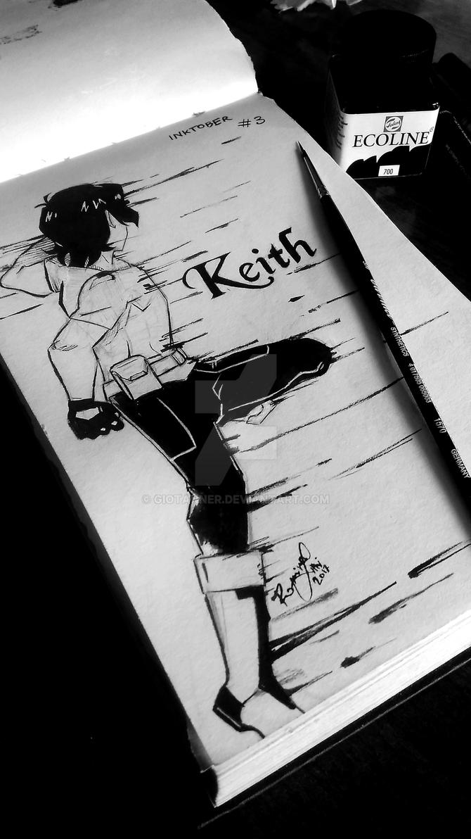Keith (Voltron) - INKTOBER Day 3 by GioTanner