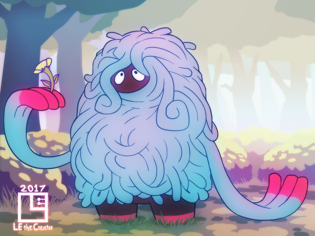 Tangrowth Appreciating Nature by LE-the-Creator
