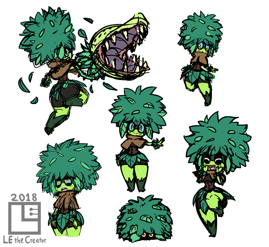 Concept Art for Veggie by LE-the-Creator