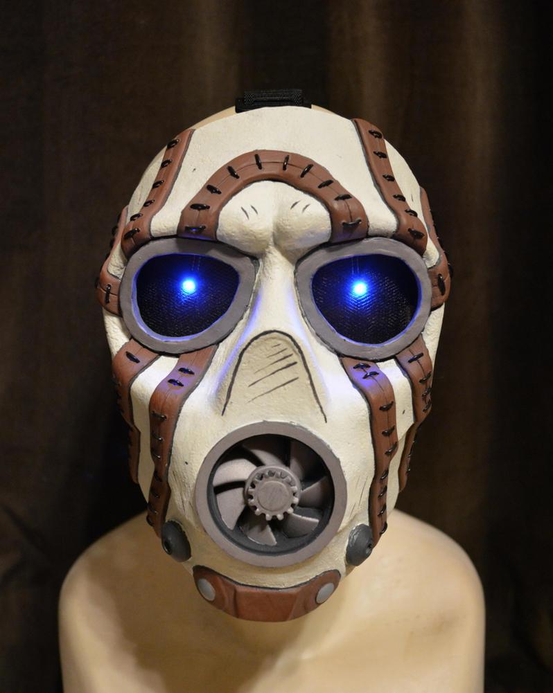 Borderlands Psycho Bandit Mask (game style) by HauntedKnoll