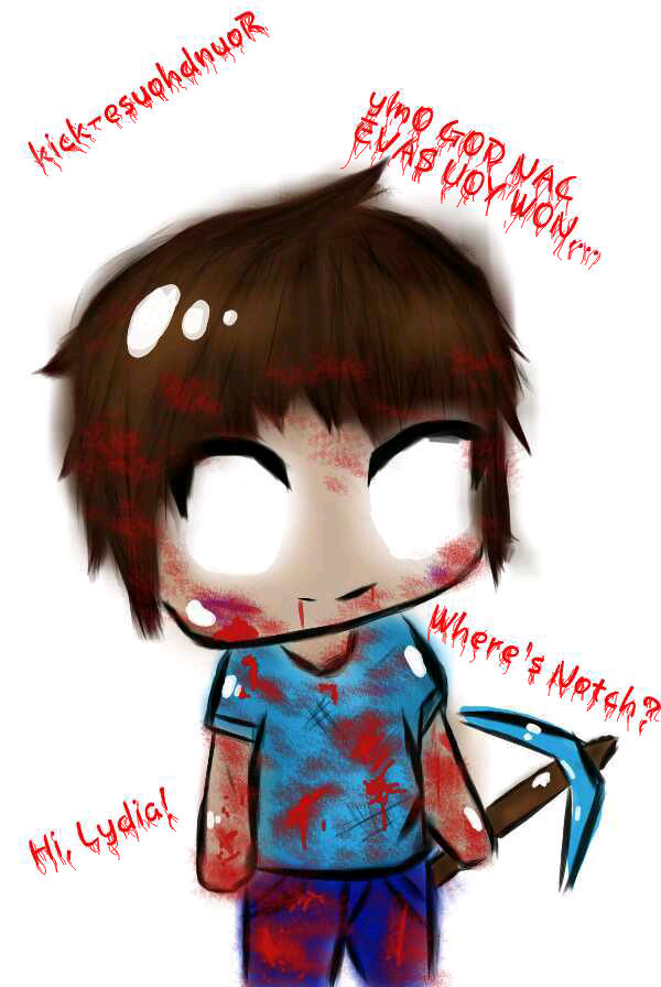 100% quality cheaper on feet images of Chibi Herobrine,.. ~ Only GOD can save you now,.. by ...
