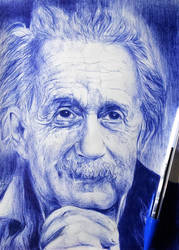 Albert Einstein by ogayar00