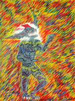 A Journey through Fire and Lightning by CursedAtlas