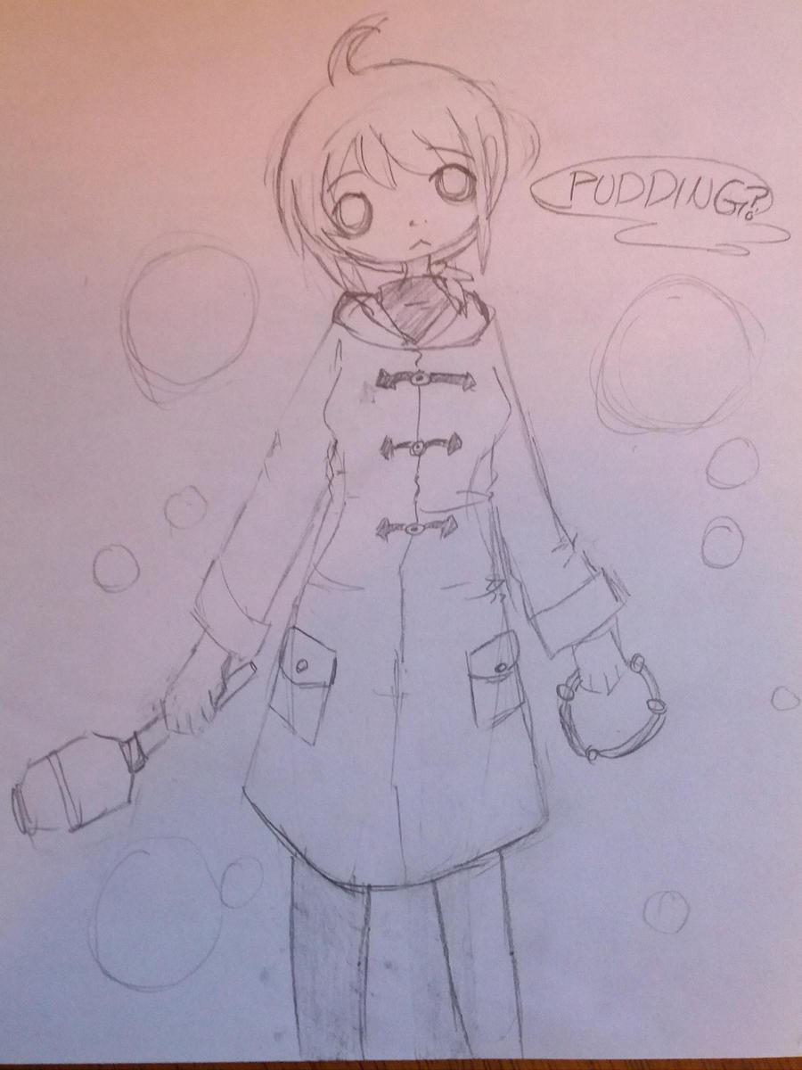Saki Sketch by RascalWabbit