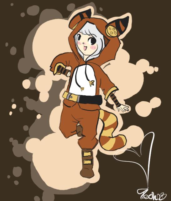 Red Panda by RascalWabbit