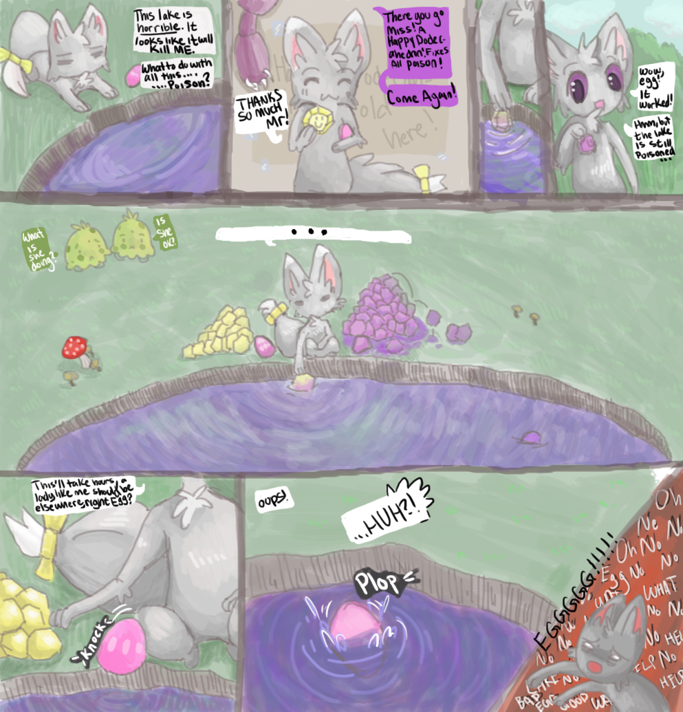 Cleaning Lotad Pond [MayTask3 1/2] by RascalWabbit