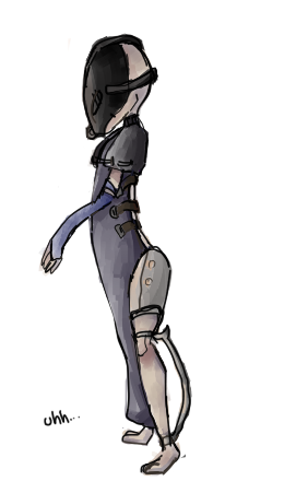 Uhh, a thing. Alien. by RascalWabbit
