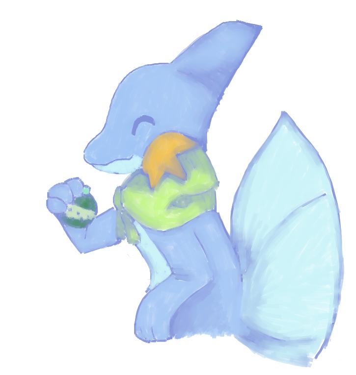 Mudkip App Art by RascalWabbit