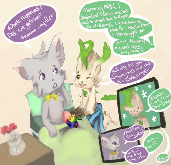 [Forger task part 2] by RascalWabbit