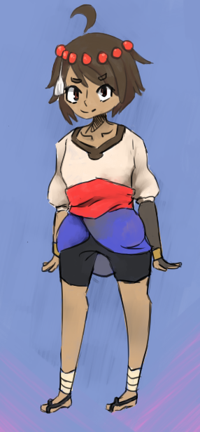Anja of Indivisible by RascalWabbit