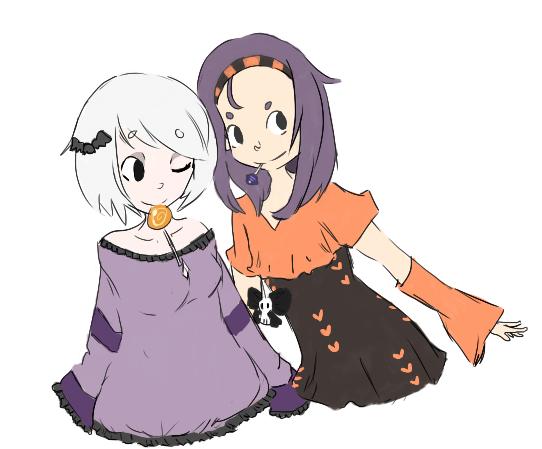 Halloween Sketch by RascalWabbit