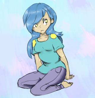 Pachirisu Girl by RascalWabbit