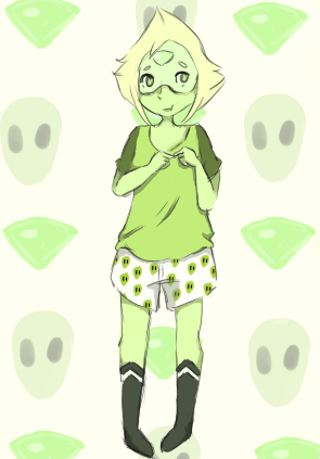 Peridot is the cutest clod by RascalWabbit