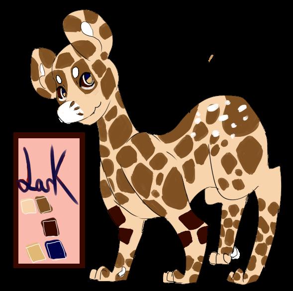 Lark (the snarky) - Giraffe Loon! by RascalWabbit