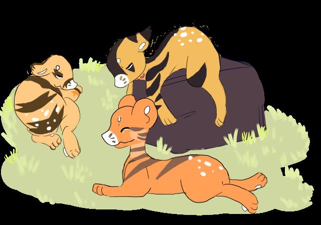 Sleeping Tigers by RascalWabbit