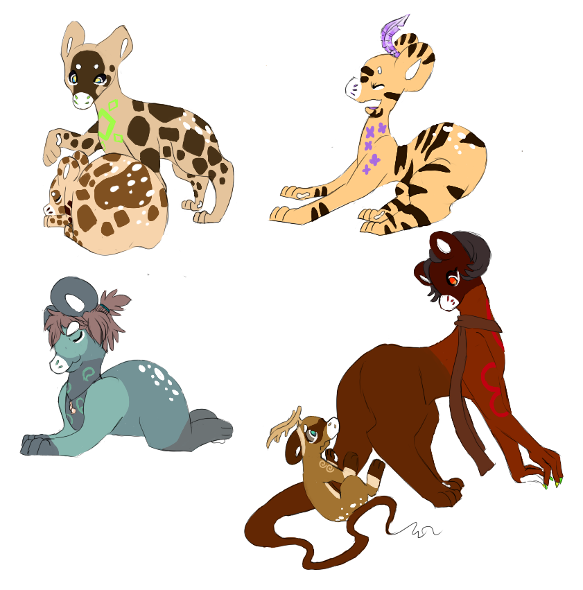 Loony Doodles by RascalWabbit