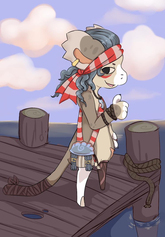 Sea Dog by RascalWabbit
