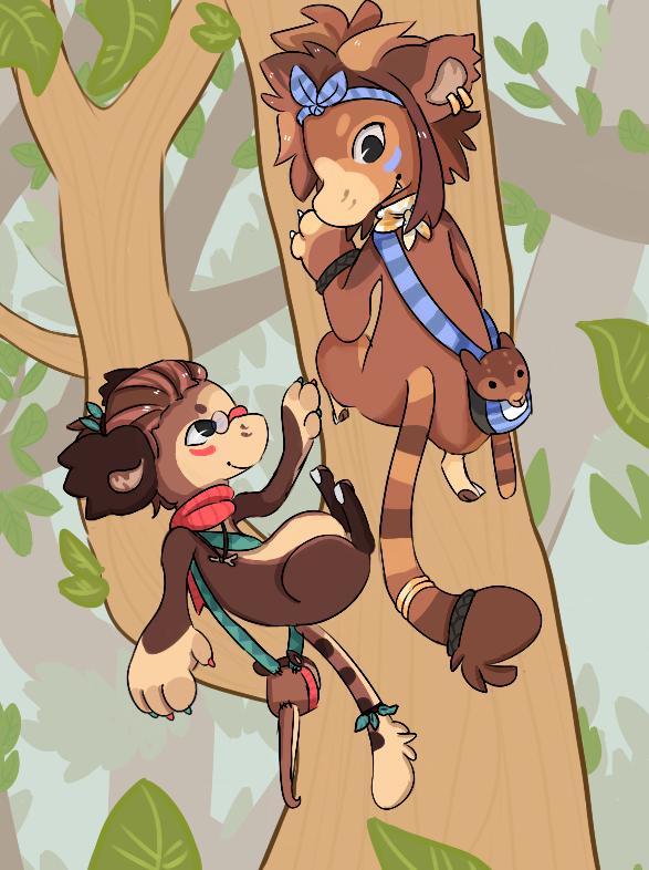 Tree Roos! by RascalWabbit