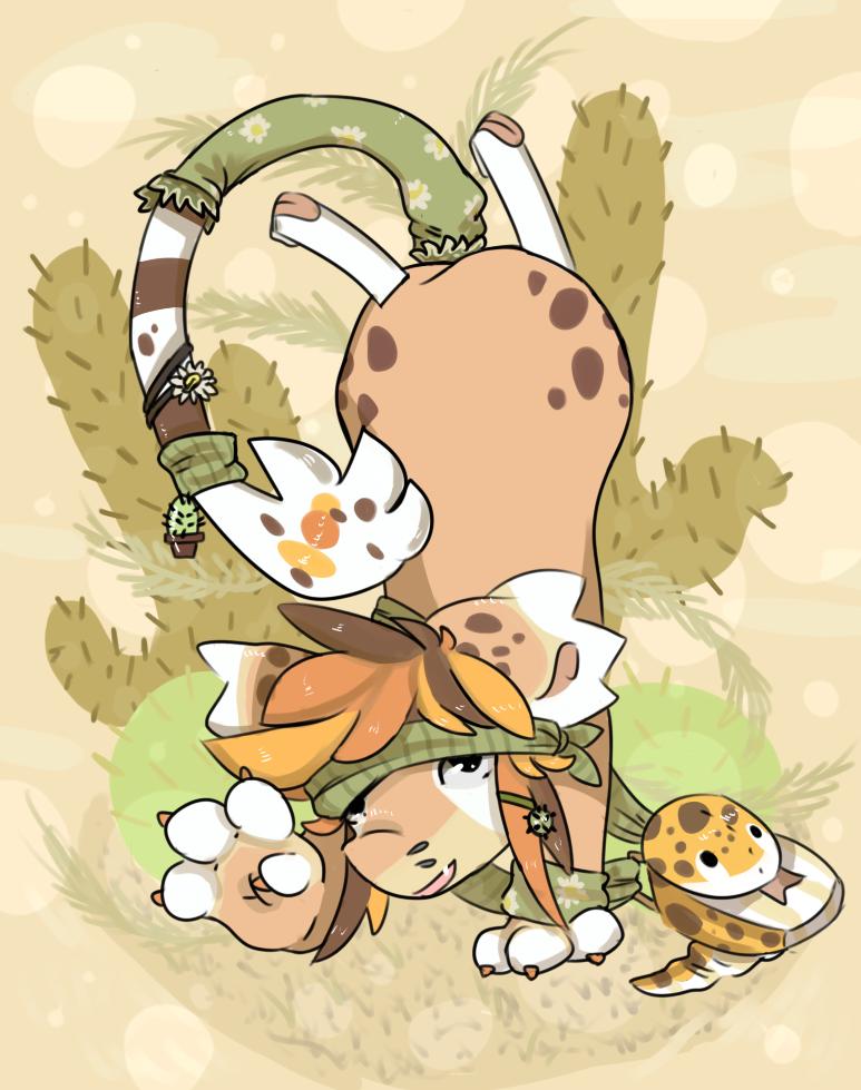 Leopard Gecko DTA - Chamie by RascalWabbit
