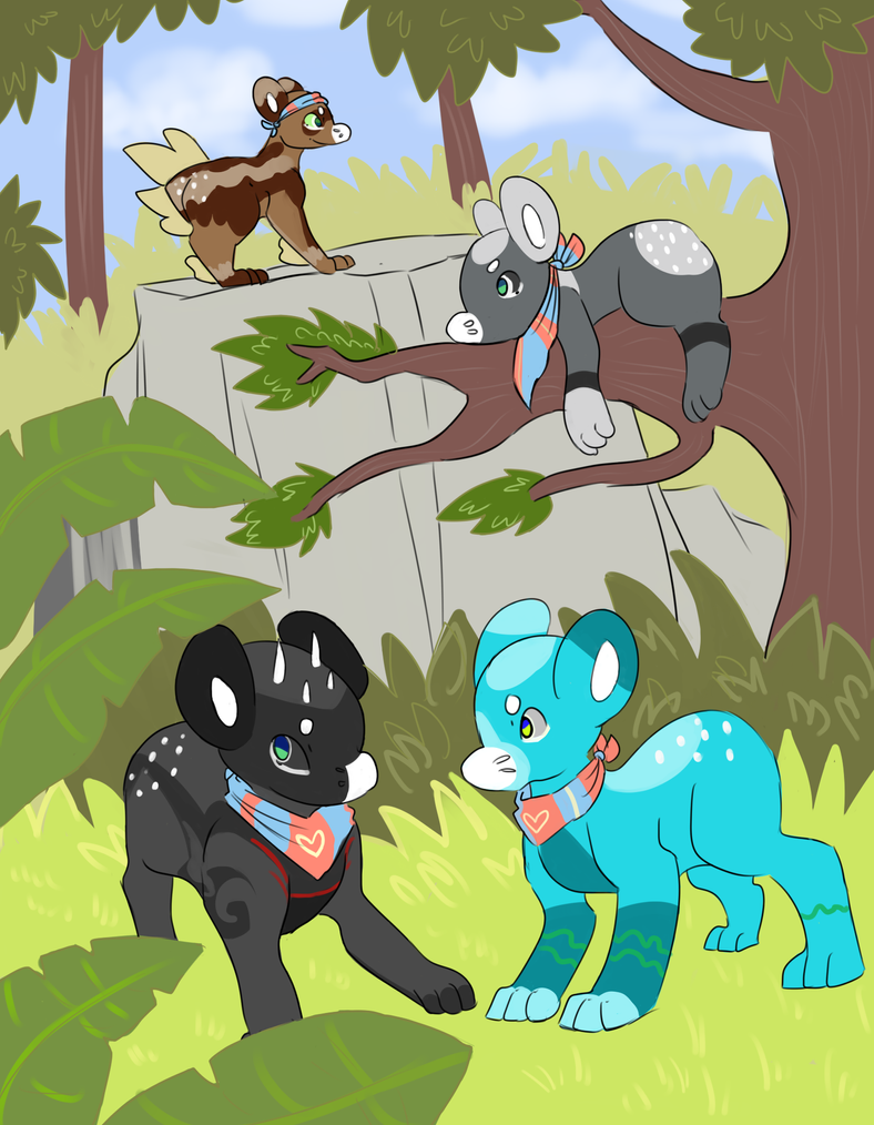 Lost Treasure Part 10: Arrival! by RascalWabbit