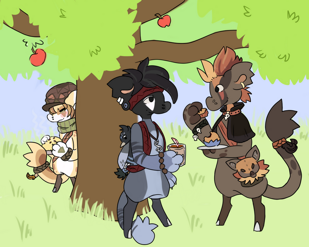 August Apple Prompt by RascalWabbit